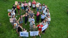 "Youth exchange in Ukraine ""Speak peace no hate"""