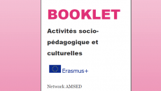 E-BOOKLET – Socio-educational and cultural activities in favor of disadvantaged neighborhoods habitants