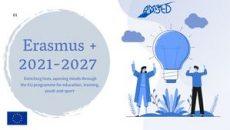 E-booklet programme Erasmus + 2021 2027